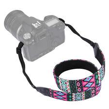 Vintage Camera Neck Straps Shoulder Straps Adjustable For Canon Nikon Fuji DSLR