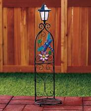 The Lakeside Collection Dragonfly Glass Accent Plant Stand