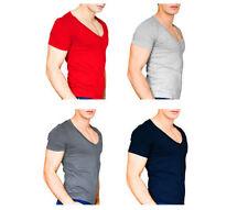 Unifarbene Herren-T-Shirts mit Basic in Größe XL
