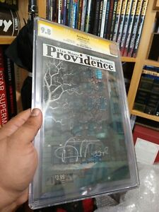 Providence 1 CGC 9.8 Signed by ALAN MOORE Yellow Label