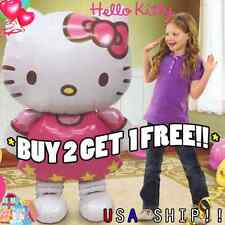 "XL 46"" HUGE!! Hello Kitty Birthday BAlloons Birthday Party Balloon White Hero"