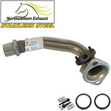 Stainless Steel Exhaust Front Pipe fits: 1998-2002 Geo Prizm Toyota Corolla