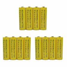 12 x AA Ni-Cad Cd 900mAh Ni-Cd Solar Light 1.2V rechargeable battery
