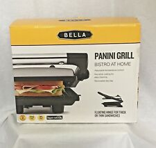 BELLA Panini Maker Press Sandwich Grill Electric Kitchen Appliance Cooking Home