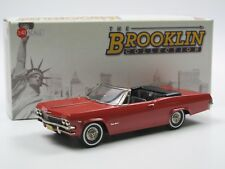 Brooklin Models BRK 223 1965 Chevrolet Impala Convertible Coupe Rally Red 1/43