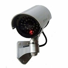 Outdoor Fake , Dummy Security Camera with Blinking Lightdeter robbery, theft,