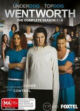 Wentworth : Season 1-4 (DVD, 2016, 17-Disc Set)