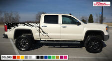 Decal Sticker Vinyl Side Bed Mud Splash Kit for GMC Sierra 1500 Z71 Rear Sport