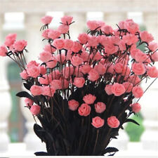 15 Pcs Artificial Roses Bouquet Flower for Home Wedding Office Party Decoration