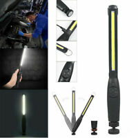 Magnetic COB LED Rechargeable Torch Inspection Lamp Cordless Work Light New US