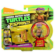 Teenage Mutant Ninja Turtles T-Sprints - Dasher Donnie & Patrol Buggy **BNIP**
