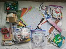 large lot scrapbook supplies