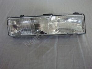 NOS OEM Buick Riviera Headlamp Lens and Housing 1988 - 1993 Right Hand
