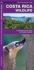 Costa Rica Wildlife: A Folding Pocket Guide to Familiar Species (A Pocket Natura