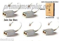 6 DSL Filters Kit 5-single 2wire 2 port 1-Wall Mount