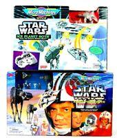 Galoob Micro Machines Star Wars Transforming Luke Skywalker Hoth + Ice Planet