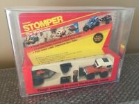 Vintage 1984 schaper stomper workhorse jeep honcho With motorcycle AFA/DCA 75