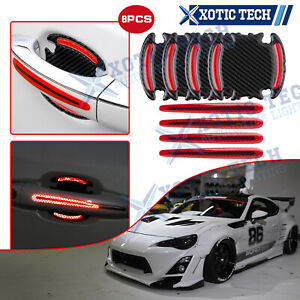 For Toyota Camry Door Handle 3D Anti-Scratch Night Reflect Wrap Sticker Film