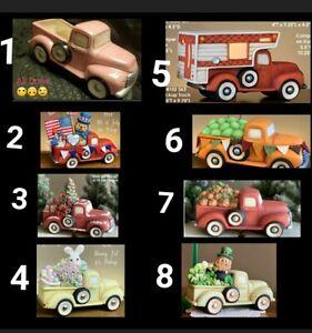 Clay Magic Truck or Truck w/ Insert 4 U 2 Pick From Unpainted Ceramic Bisque