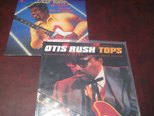OTIS RUSH SO MANY ROADS LIVE 1975  TOYKO & TOPS LIVE SAN FRANCISCO 1985 2 LP SET