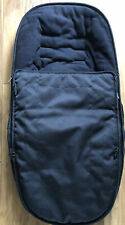 "GENUINE iCandy Peach 3 ""Black Magic"" Pushchair Seat Footmuff / Cosy Toes"