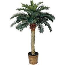 4' Sago Silk Palm Tree - Realistic Fake Plants - TROPICAL Silk - NEW