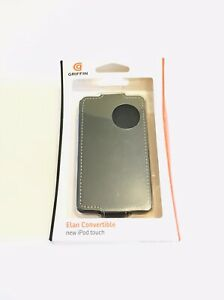 Griffin Faux Leather Protective Case for iPod Touch 4G 4th Gen 64GB/32GB/16GB,BK