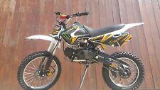 RV-RACING GT607S 125ccm Dirtbike Weiß Pitbike Enduro Cross 4 Takt 4 Gang TOP!!