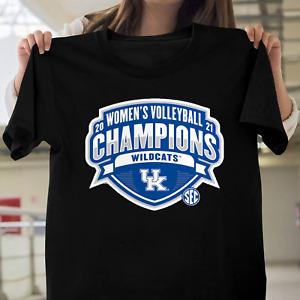 Kentucky Wildcats 2021 SEC Women's Volleyball Regular Season Champions T-Shirt