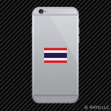 Thai Flag Cell Phone Sticker Mobile Die Cut Thailand