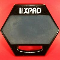 "PRO-MARK XPAD 8"" Snare Drum Practice Pad w/ Handle Blue Promark X Pad - Used"