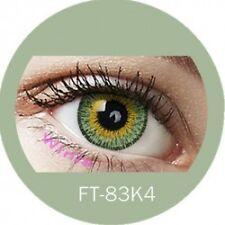 Lentille couleur verte 3 tons FT83K4 - green color contact lenses
