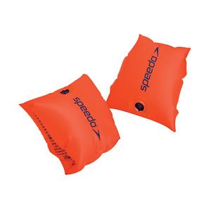 Speedo Mare Squad Armbands Braccioli Bambini Aiuto-Nuoto Orange Nuovo! Ovo