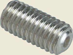 M5 Grub Screw Stainless Steel Socket Screw - Lengths - 5mm - 12mm
