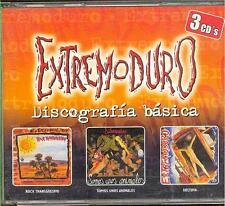 EXTREMODURO - Discografia Basica - SPANISH HEAVY METAL 3 CD set