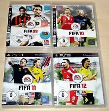 4 PLAYSTATION 3 PS3 SPIELE SAMMLUNG FIFA 09 10 11 12 - wie neu!!  -------   (14)