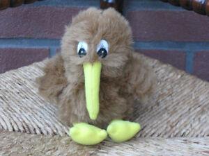 Vintage German Brown Bird Plush 20 cm