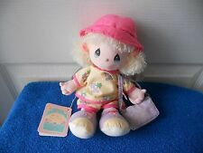 """APPLAUSE Precious Moments  AUGUST Spec Edition DOLL VACATIONS NWT 11"""" TALL CUTE"""