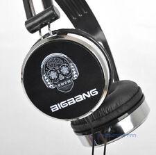 BIGBANG big bang VIP KPOP BLACK EARPHONES HEADPHONES TYPE E NEW