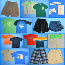 15 Piece Lot of Nice Clean Boys Size 6 Spring Summer Everyday Clothes ss53