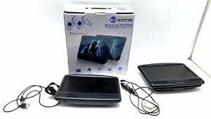 WONNIE Dual Screen DVD Player