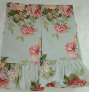 Ralph Lauren STONE HARBOR-PAIR OF STANDARD SIZE RUFFLED PILLOWCASES- 2 AVAILABLE