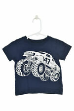 Carter's Boys Tops T-Shirts 12-18 MO Blue Cotton