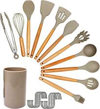 11Pcs Silicone Kitchenware Cooking Utensils Set Heat Resistant Kitchen Tools Set