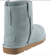 3bbfa2dcbeb UGG Australia Leather Cuban Heel Solid Boots for Women   eBay