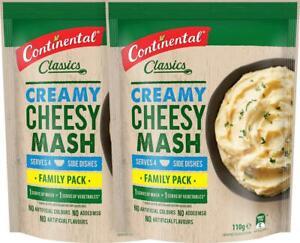 2 x Continental Classics Cheesy Mash Family Pack 110g