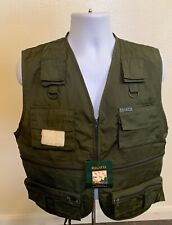 Regatta Great Outdoors Green Vest Men Size Medium Fishing Hunting Pockets