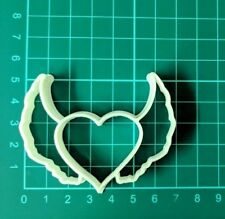 HEART WINGS BISCUIT CUTTER SEAMLESS COOKIES CRAFT CAKE DECORATING SUGARCRAFT