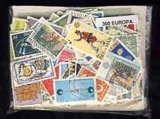 EUROPA CEPT 300 timbres différents oblitérés
