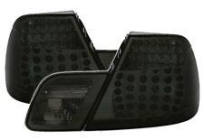 FEUX ARRIERES LED NOIR FUME CRISTAL BMW SERIE 3 E46 COUPE 98-03 325 328 330 CI